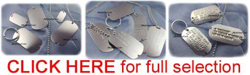 silver dogtag